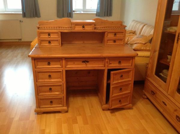alten schreibtisch neu und gebraucht kaufen bei. Black Bedroom Furniture Sets. Home Design Ideas