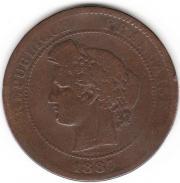 10 Centimes, Frankreich