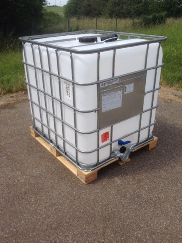 1000l lbc container wassertank in mannheim sonstiges f r den garten balkon terrasse kaufen. Black Bedroom Furniture Sets. Home Design Ideas