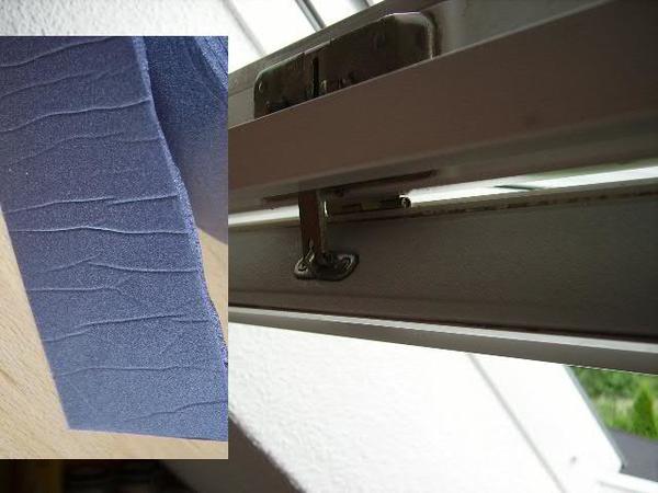 2 20 meter dichtband schaumdichtung f r l ftungsklappe velux oder andere dachfenster in berlin. Black Bedroom Furniture Sets. Home Design Ideas