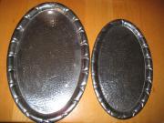2 antike silber-