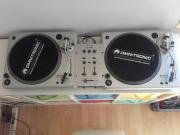 2 DJ Plattenspieler