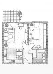 2 helle Zimmer