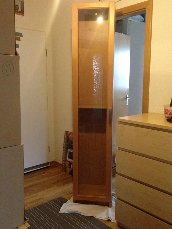 2 ikea billy vitrinen in karlsruhe ikea m bel kaufen und verkaufen ber private kleinanzeigen. Black Bedroom Furniture Sets. Home Design Ideas