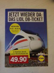 2 Lidl Bahnticket