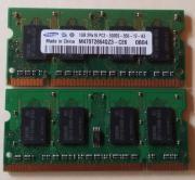 2 Samsung 1Gb -