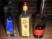 3 Flaschen Spirituosen