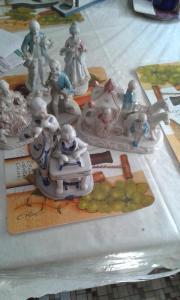 5 rokoko Porzellanfiguren
