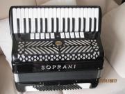 Akkordeon Soprani 96B