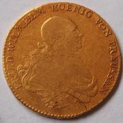 Altdeutschland Goldmünze Friedrich