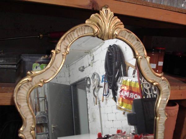 alte ovale spiegel barok in heppenheim stilm bel. Black Bedroom Furniture Sets. Home Design Ideas