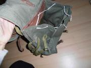 Alte unbenutzte Rucksack