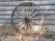 Altes Kutschenrad