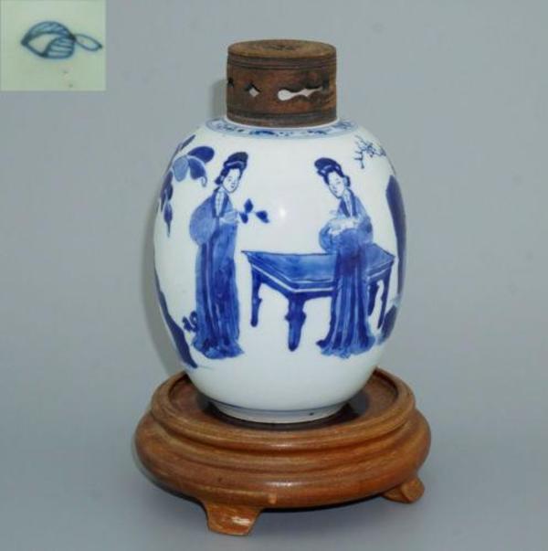 porzellan vase blau kaufen gebraucht und g nstig. Black Bedroom Furniture Sets. Home Design Ideas