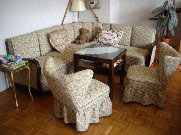 antike eck cousch c 210x190 cm mit 2 sessel in marktredwitz polster sessel couch kaufen und. Black Bedroom Furniture Sets. Home Design Ideas