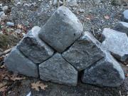 Antike Granitsteine von