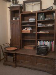antiker Büroschrank