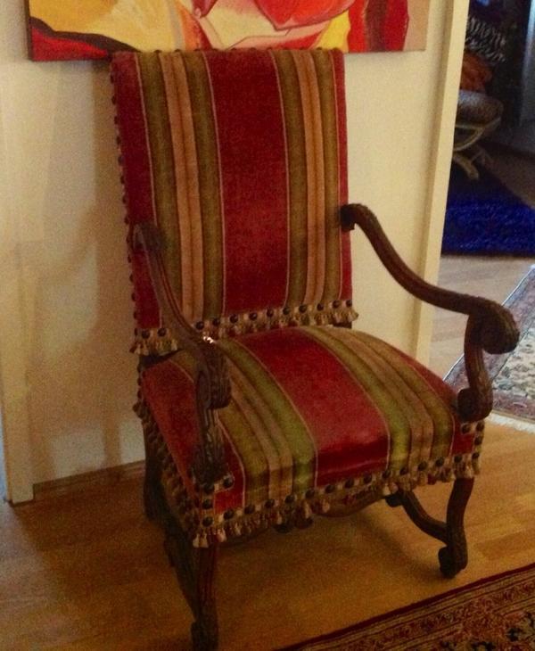 antiker sessel in sinzheim polster sessel couch kaufen. Black Bedroom Furniture Sets. Home Design Ideas