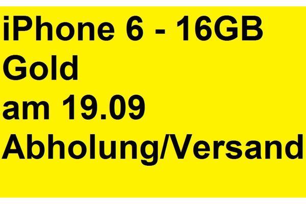 apple iphone 6 16gb gold in essen kaufen und verkaufen ber private kleinanzeigen. Black Bedroom Furniture Sets. Home Design Ideas