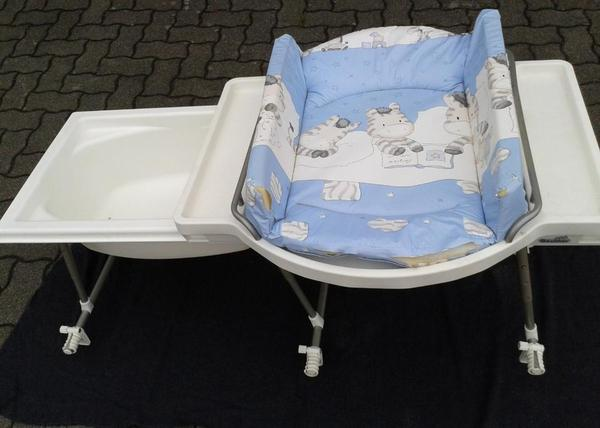 aqualino bade wickel kombination badewannenaufsatz f r babys in gro heubach wickeltische. Black Bedroom Furniture Sets. Home Design Ideas