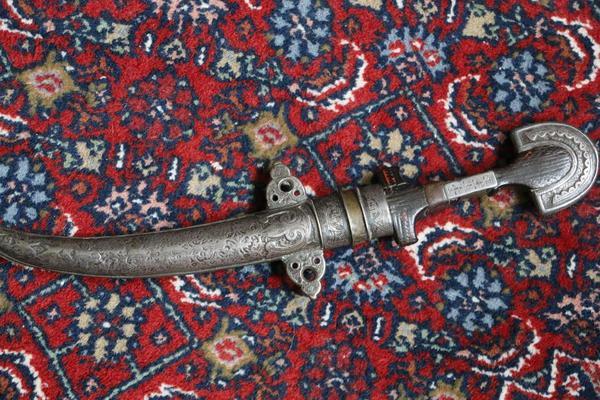 arabischer krummdolch in essen sonstige antiquit ten kaufen und verkaufen ber private. Black Bedroom Furniture Sets. Home Design Ideas