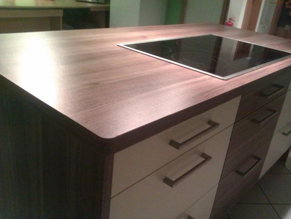 arbeitsplatte kochinsel 180cm mondo passende neff. Black Bedroom Furniture Sets. Home Design Ideas