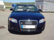 Audi A4 Cabrio 1,8 T Audi, A4, Cabrio, Benzin, 120 kW, 150000 km, EZ 10/2007, Schaltgetriebe, Blau Metallic. Winterreifen auf original Alus von Audi, also 8-fach bereift, ... 5.100,- D-47574Goch Grunewald Gzg Heute, 21:33 Uhr, Goch Grunewald Gzg - Audi A4 Cabrio 1,8 T Audi, A4, Cabrio, Benzin, 120 kW, 150000 km, EZ 10/2007, Schaltgetriebe, Blau Metallic. Winterreifen auf original Alus von Audi, also 8-fach bereift