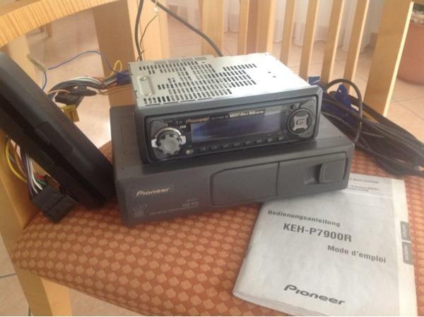 autoradio pioneer keh p7900r und pioneer cdx p25 6 fach cd. Black Bedroom Furniture Sets. Home Design Ideas