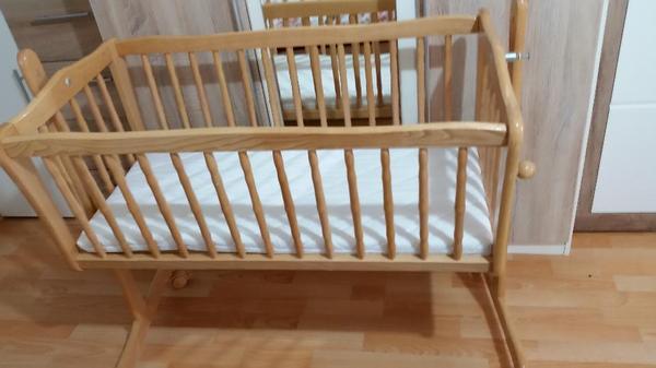 baby bett von filmkind in m nchen wiegen babybetten reisebetten kaufen und verkaufen ber. Black Bedroom Furniture Sets. Home Design Ideas
