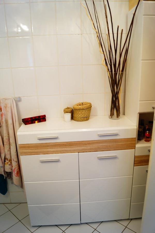 Badezimmer kommode  Kommode Badezimmer: Badezimmer mango grau spiegelschrank regal bad ...