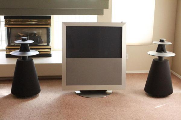 bang olufsen beovision 5 42 hd plasma tv in m nchen tv. Black Bedroom Furniture Sets. Home Design Ideas
