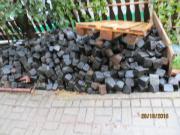 Basalt Pflastersteine, schwarz,