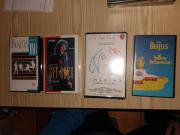 Beatles Videocassetten