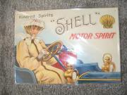 Berliner Blechschild Shell