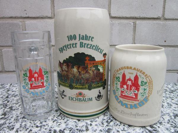 bierkrug und bierglas speyer speier am rhein pfalz vorderpfalz bier brauerei in waldsee. Black Bedroom Furniture Sets. Home Design Ideas