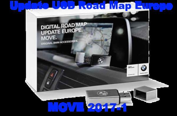 bmw mini navigation usb road map europe move cic 2017 1. Black Bedroom Furniture Sets. Home Design Ideas