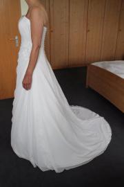 bodenlanges Brautkleid NEU