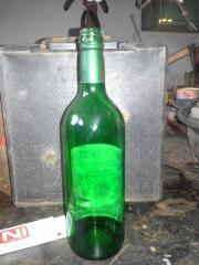 Bordeauxflaschen grün mit