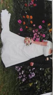 Brautkleid Cremefarbig