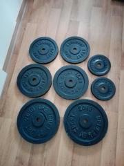 BREMSHEY Hantelscheiben-100kg.,