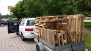 Brennholz Palettenholz Balken