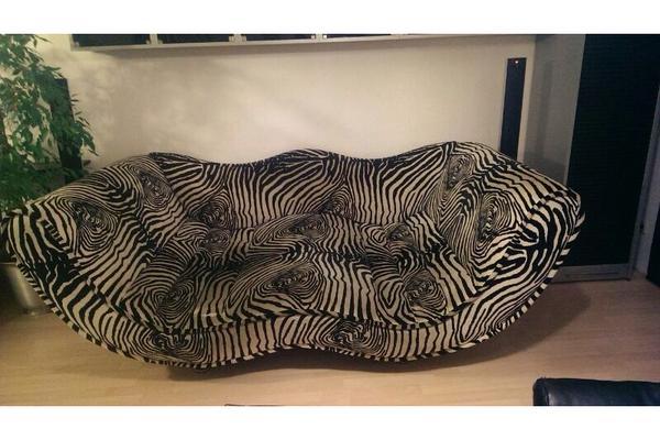 bretz designer couch zebraoptik in heppenheim polster sessel couch kaufen und verkaufen ber. Black Bedroom Furniture Sets. Home Design Ideas