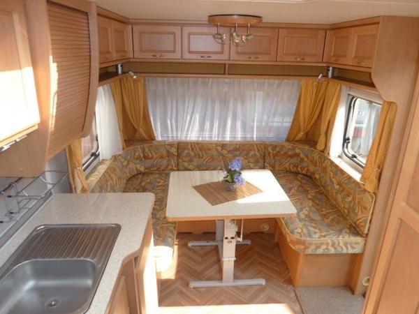 b rstner amara 500 ts 4 pers inkl sonnensegel in besdorf wohnwagen kaufen und verkaufen. Black Bedroom Furniture Sets. Home Design Ideas
