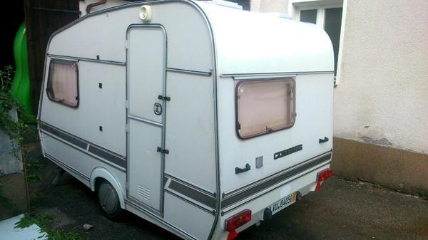 bj 94 aus england wurde als standwohnwagen genutzt er. Black Bedroom Furniture Sets. Home Design Ideas