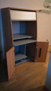 computerschrank haushalt m bel gebraucht und neu kaufen. Black Bedroom Furniture Sets. Home Design Ideas
