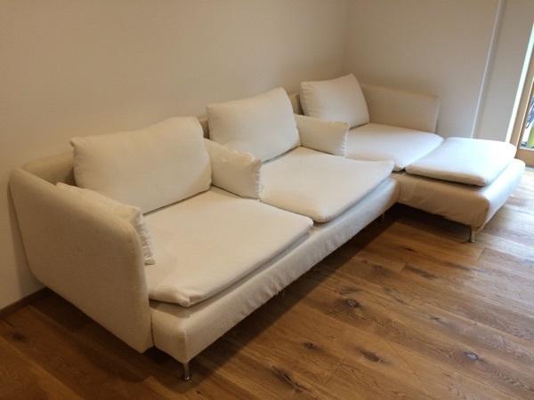Couch / Sofa IKEA Söderhamn beige in Rankweil - Polster, Sessel ...