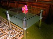 Couchtisch, Glas, 60x60