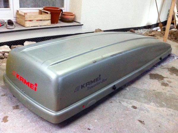 dachbox auto kamei l nge 235cm gebraucht in reutlingen fahrrad dachgep cktr ger dachboxen. Black Bedroom Furniture Sets. Home Design Ideas