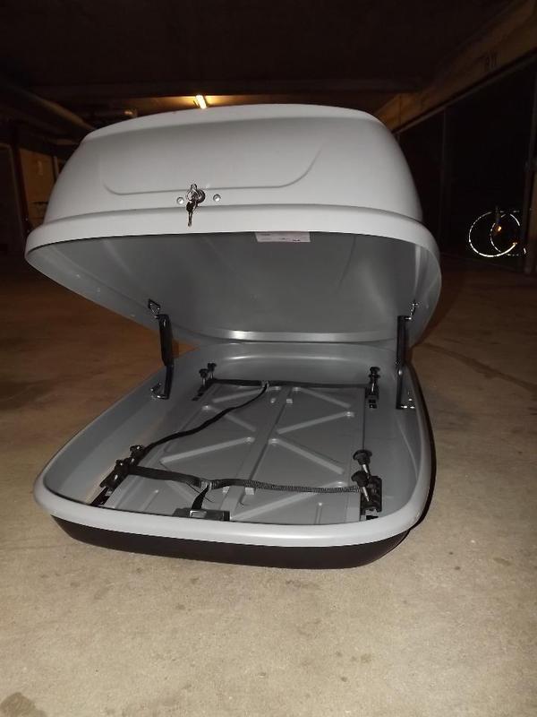 dachbox jetbag sprint 320 in karlsruhe fahrrad dachgep cktr ger dachboxen kaufen und. Black Bedroom Furniture Sets. Home Design Ideas