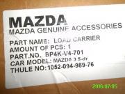 Dachgepäckträger für Mazda